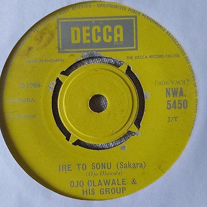 Ojo  Olawale & His Group - Aiye Yi Lo [Decca]