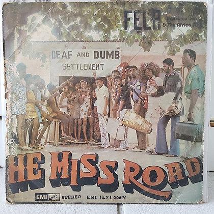Fẹla Ransome-Kuti & The Africa '70 – He Miss Road [EMI]