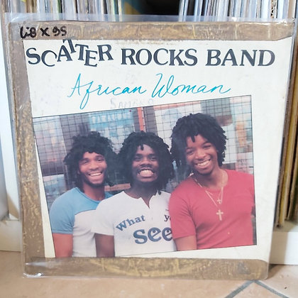 Scatter Rocks Band ‎– African Woman [ Rite Sound Recording Co. (Nig) Ltd]
