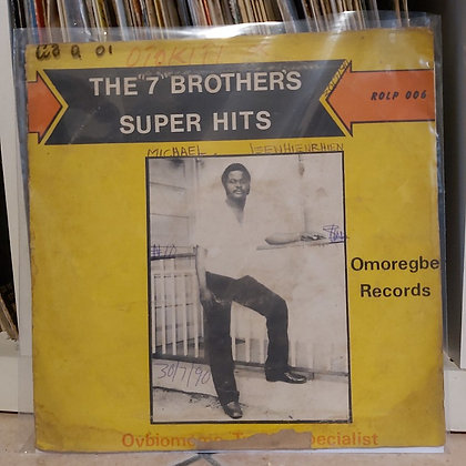"""Otokiti And His Seven Brothers Dance Band – The """"7"""" Brothers Super Hits"""