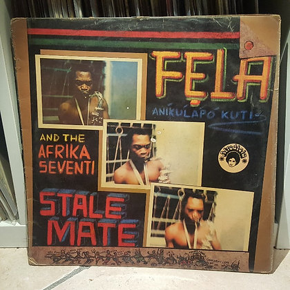 Fela Kuti And The Afrika Seventi ‎– Stalemate [Afrodisia]