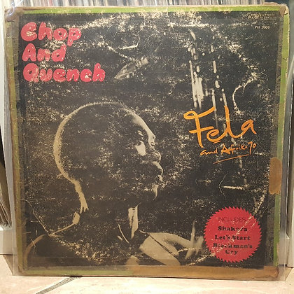 Fela And Afrika 70 – Chop And Quench [Philips]