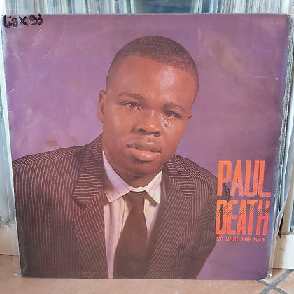 Paul Death ‎– No Need For War [Poly]