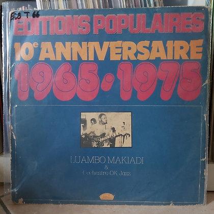 Luambo Makiadi & Orchestre OK Jazz – Éditions Populaires 10ème Anniversaire