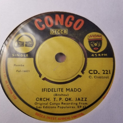 Orch. T.P. OK. Jazz - Ma He Le [Congo]