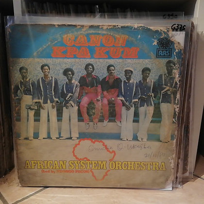 African System Orchestra – Canon Kpa Kum [RAS]