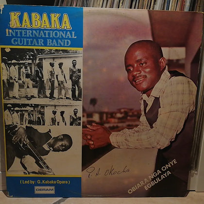 Kabaka International Guitar Band ‎– Obiara Nga Onye Egbulaya [Deram] 1979