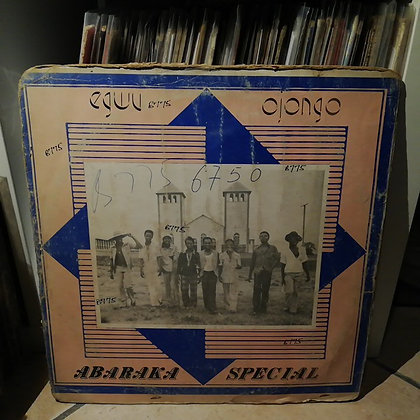 Original Abaraka Int. Band Of Nigeria ‎– Egwu Ojongo [Sound Linaco]