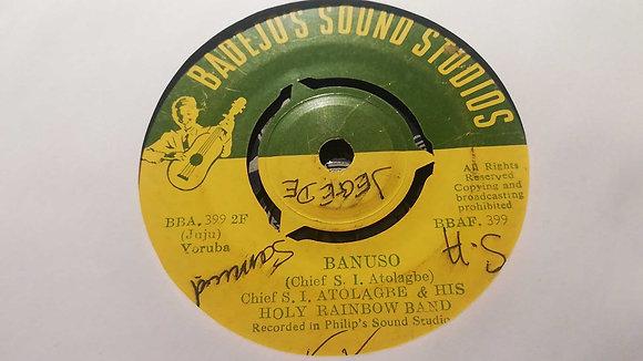 Chief S.I. Atolagbe & Holy Rainbow Band - Ogun Pari [Badejo's Sound]