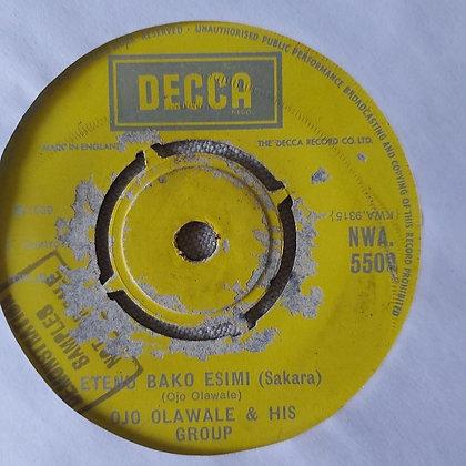 Ojo  Olawale & His Group - igba Ojule [Decca]