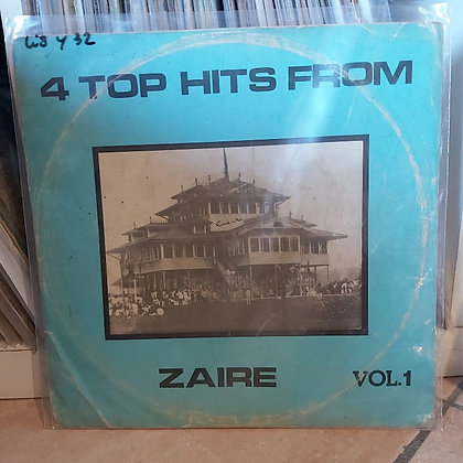 4 Top Hits From Zaire - Vol 1 [Editions Lalps]