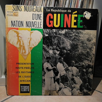 Various – Sons Nouveaux D'Une Nation Nouvelle - La République de Guinée [Tempo]