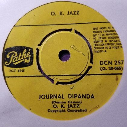 O.K. Jazz – Sapato / Journal Dipanda [Pathé]