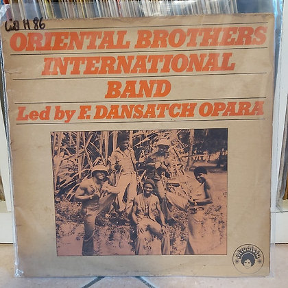 Oriental Brothers International Band Led By F. Dansatch Opara [Afrodisia]