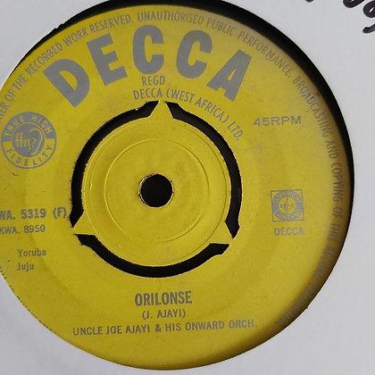 Uncle Joe Ajayi - Aro Lawa [Decca] Juju