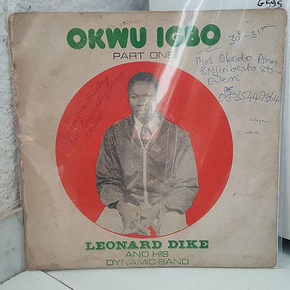 Leonard Dike And His Dynamic International Band - Okwu Igbo