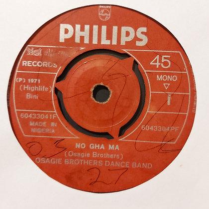 Osagie Brothers Dance Band - No Gha Ma [Philips]