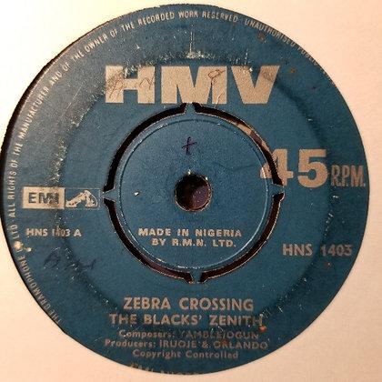 Black's Zenith - Zebra Crossing / I Can Do It [HMV]