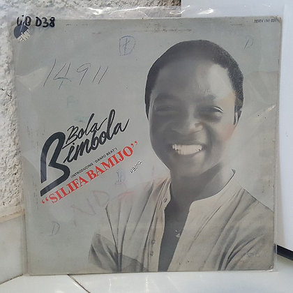 Bola Bimbola – Silifa Bamijo [ His Master's Voice – HMV (N) 031]