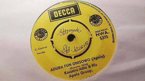 Kasumu Adjo & His Apala Group - Owo - Ni - Fari (Apala) [Decca]