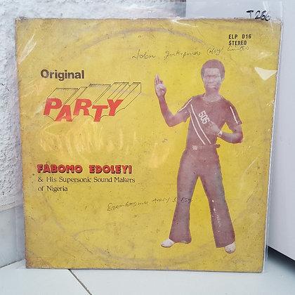 Master Fabomo Edoleyi - Original Party [Emperor]