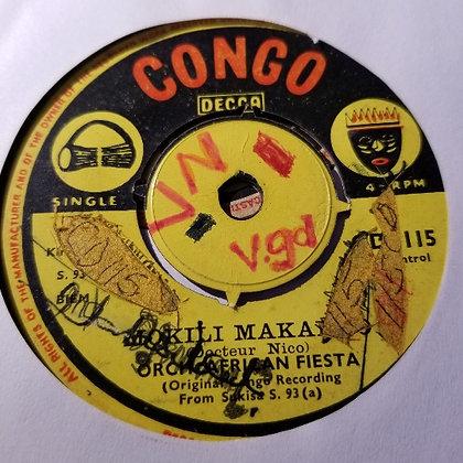 Orch. African Fiesta - Cumbre Pachanga [Congo - Decca