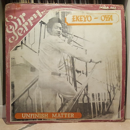 Sir Jerry - Unfinish Matter [Why Worry Records]