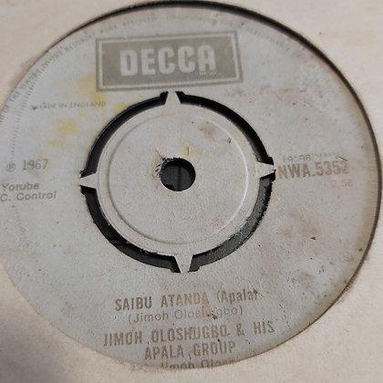 Jimoh Oloshugbo & His Apala Group - Ire Owo Ire Owo [Decca] Nwa 5352