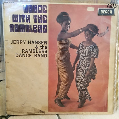 Jerry Hansen & The Ramblers Dance Band ‎– Dance With The Ramblers