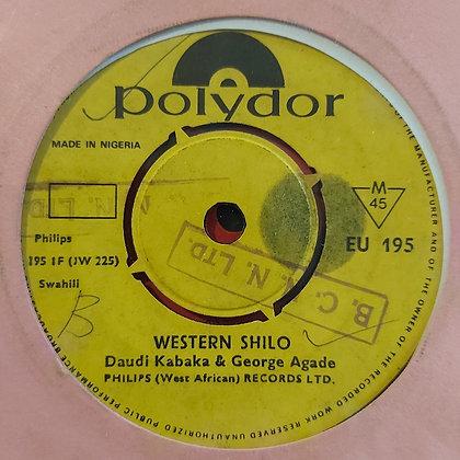 Daudi Kabaka & George Agade - Western Shilo [Polydor]