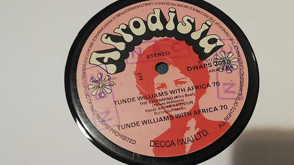 Tunde Williams Plays With The Africa 70 – Mr. Big Mouth [Afrodisia]