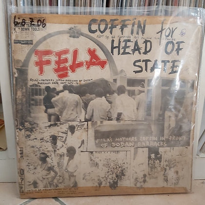 Fẹla & Africa 70 ‎– Coffin For Head Of State [Kalakuta]