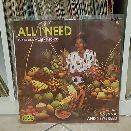 Nnenna & Newbreed - All I Need [Obidisc]