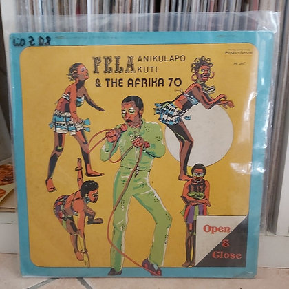 Fela Anikulapo Kuti & The Afrika '70 ‎– Open & Close [Philips]