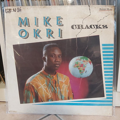Mike Okri ‎– Cracks [ Premier Music ‎– PMLP 010]