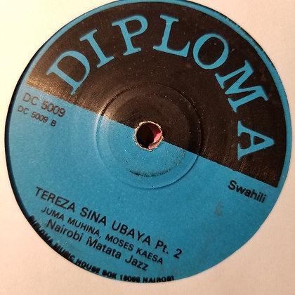 Nairobi Matata Jazz – Tereza Sina Ubaya [Diploma]