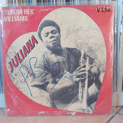 Etubom Rex Williams & His Nigerian Artistes – Juliana [Philips]