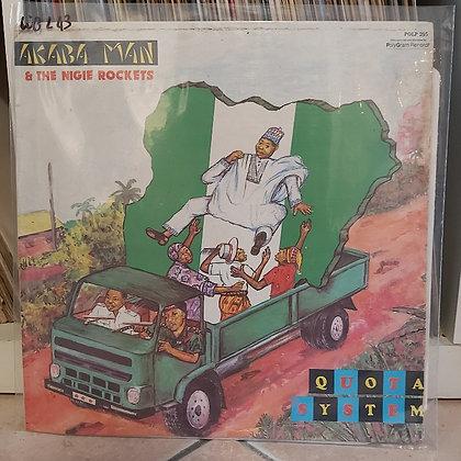 Akaba Man & The Nigie Rokets – Quota System [Polydor]