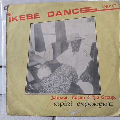 Johnson O. Adjan And His Group - Ikebe Dance [Lider]