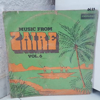 Various – Music From Zaire Vol.6 [Deram]