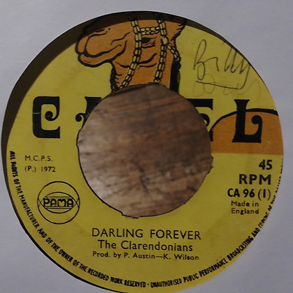 The Clarendonians / Kenneth Wilson Allstars – Darling Forever / Forever Version