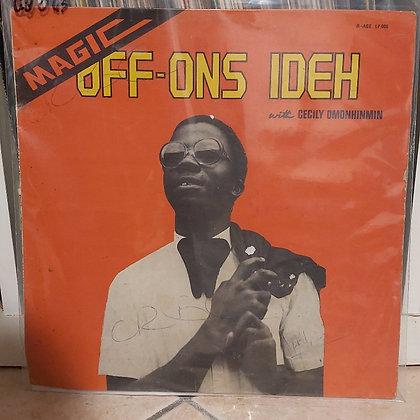 Off-Ons Ideh – Magic [R-AGE – R-AGE LP 006]
