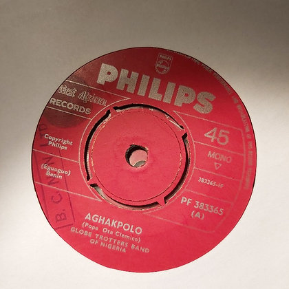 Globe Trotters Band Of Nigeria - Aghakpolo [Philips]