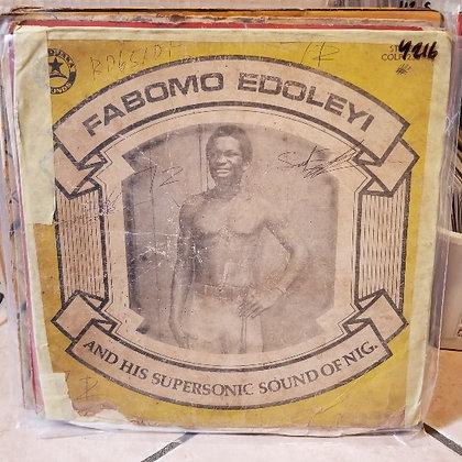 Fabomo Edoley & His Supersonic Sound Of Nig. [Coconut]