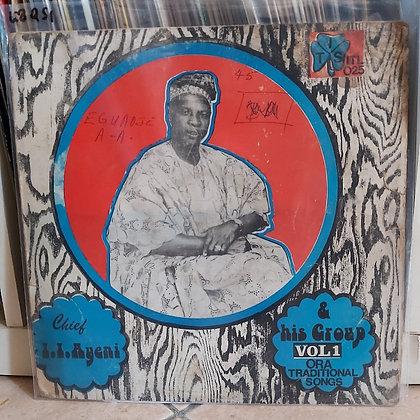 Chief I. I. Ayeni & His Group – Ora Traditional Songs Vol. 1 [Ijebor]