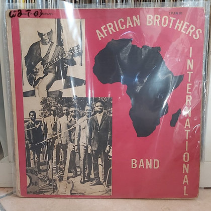African Brothers International Band [Happy Bird ‎– LPJN 02]