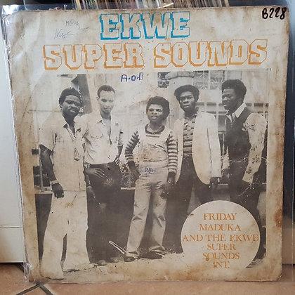 Friday Maduka And The Ekwe Super Sounds Int. – Ekwe Super Sounds