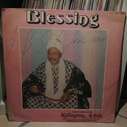 Kollington Ayinla And His Fuji '78 Organisation ‎– Blessin