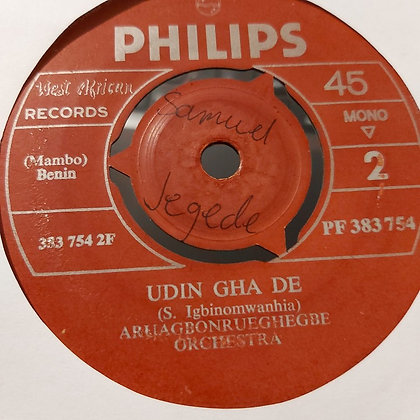 Aruagbonrueghegbe Orchestra - Ni Ye Ma Mwen [Philips]