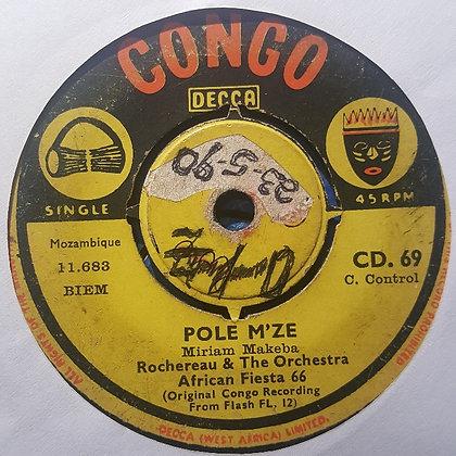Rochereau & Orchestre African Fiesta 66 – Pole M'ze / Mokolo NakokufaRocherea